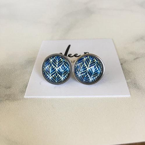 'Elliott' Glass Earrings