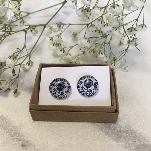 'Greta' Glass Earrings