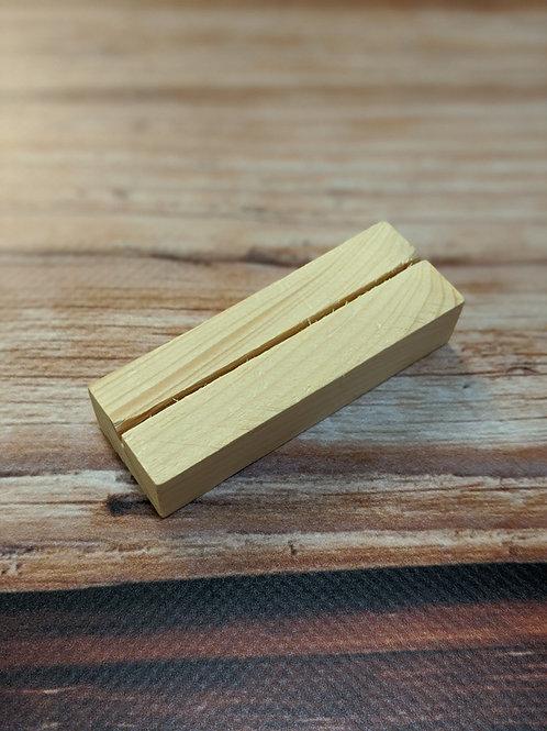 Wooden Card Stand (MEDIUM)