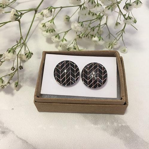 'Bethany' Glass Earrings