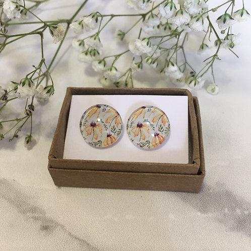 'Bonnie' Glass Earrings