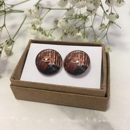 'Poppy' Glass Earrings