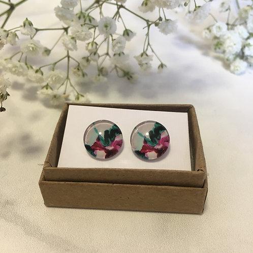 'Felix' Glass Earrings