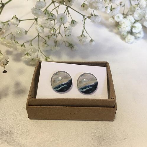 'Oscar' Glass Earrings