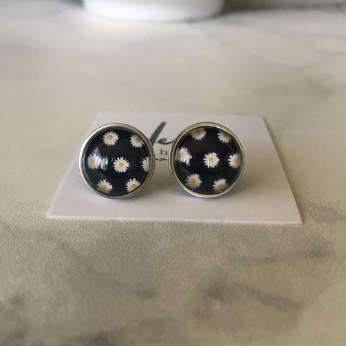 'Zoe' Glass Earrings