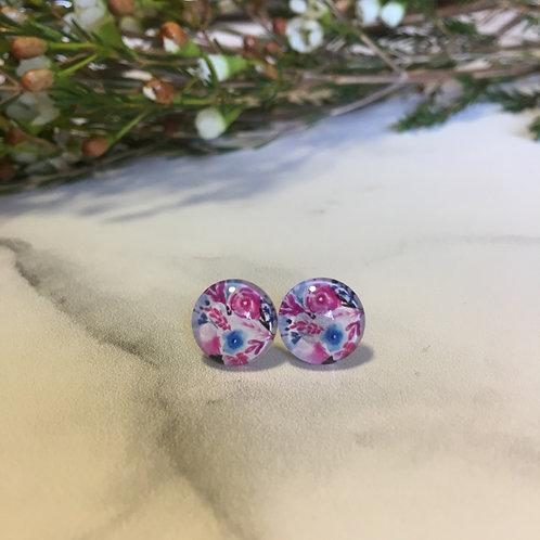 'Beatrice' Glass Earrings