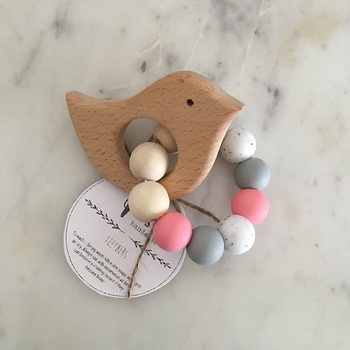 'Mae' Silicone Teething Toy