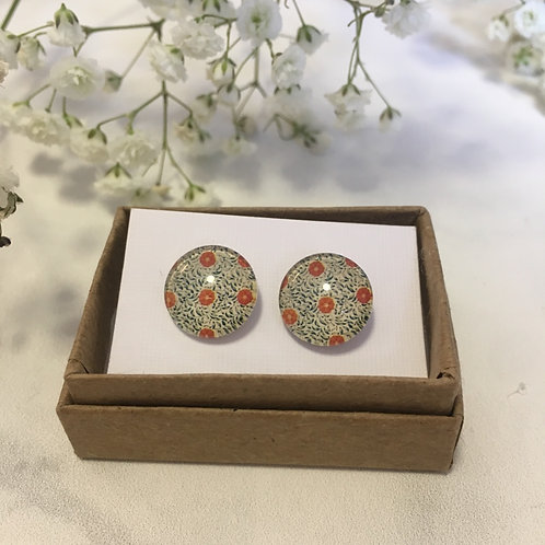 'Genevieve' Glass Earrings