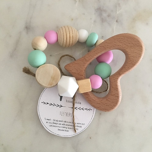 'Grace' Silicone Teething Toy