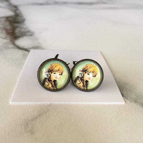 'Becky' Glass Earrings