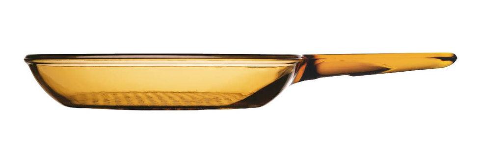"""מחבת זכוכית 24 ס""""מ Vision"""