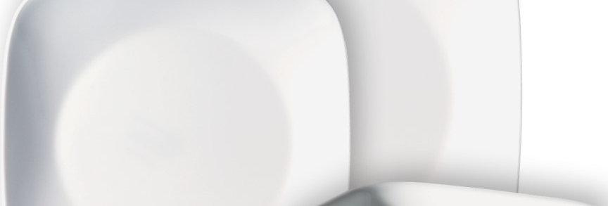 סט 18 חלקים, Pure White