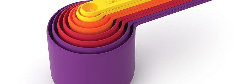 סט 8 כוסות מדידה Nest צבע