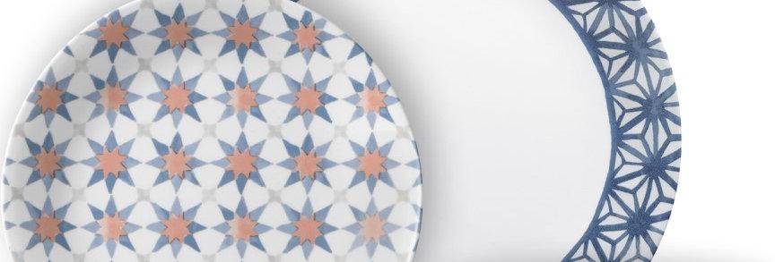 סט 18 חלקים, Amalfi Azul