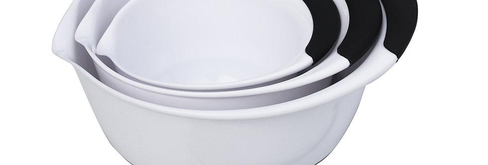 סט 3 קערות ערבול 1.4+2.8+4.7 ליטר + לקקן DOLCE ITALIANO