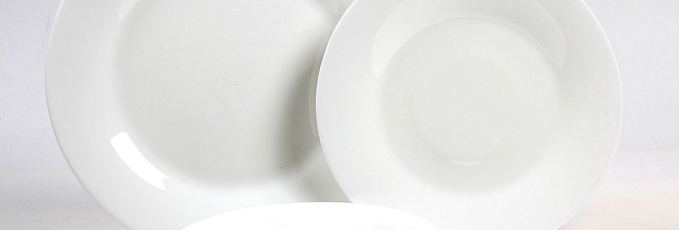 סט אוכל 18 חלקים WHITE MOON