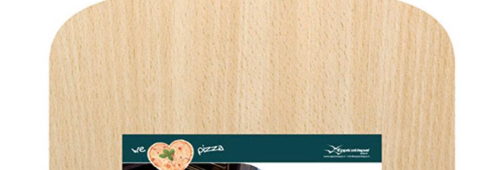 מגש להכנת פיצה מעץ 37*38