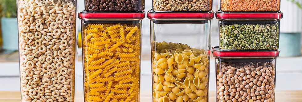 סט אחסון 8 חלקים TWIST IT מבית Food appeal
