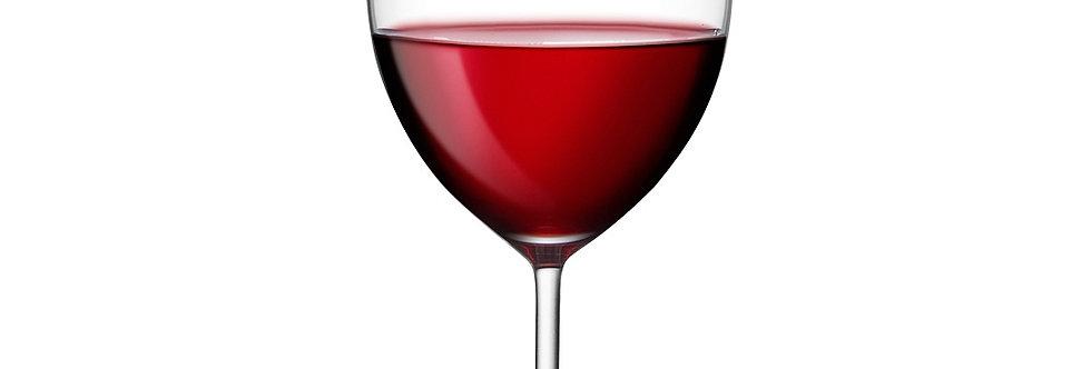 """2 כוסות יין בורדו 600 מ""""ל, Vintage"""