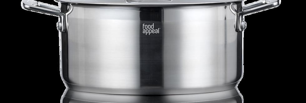 סיר מסדרת silver edge פוד אפיל - Food Appeal