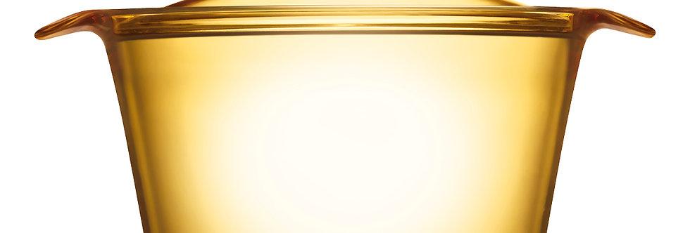 סיר זכוכית 5.5 ל' + מכסה Visions Flair