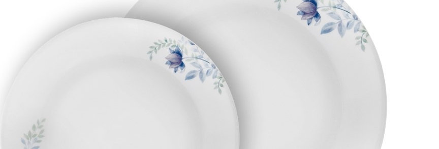 סט 18 חלקים, Blue Floral