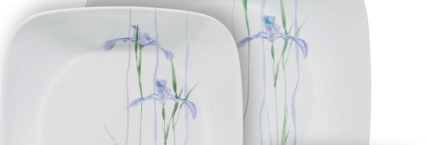 סט 18 חלקים, CORELLE® - Shadow Iris