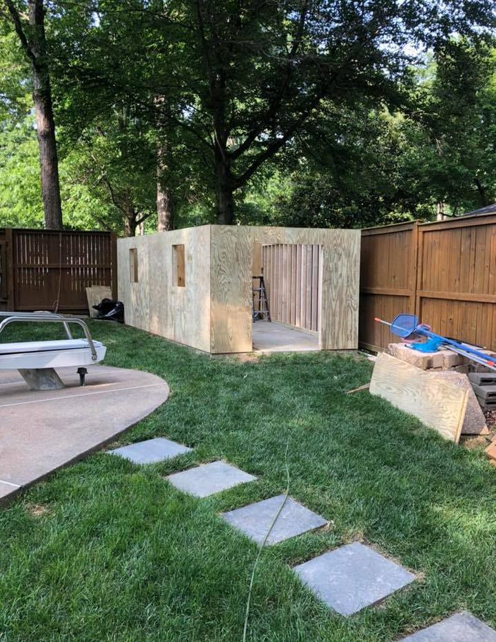 small garage progress