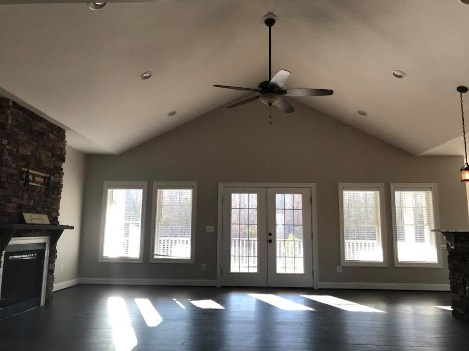 new home living room