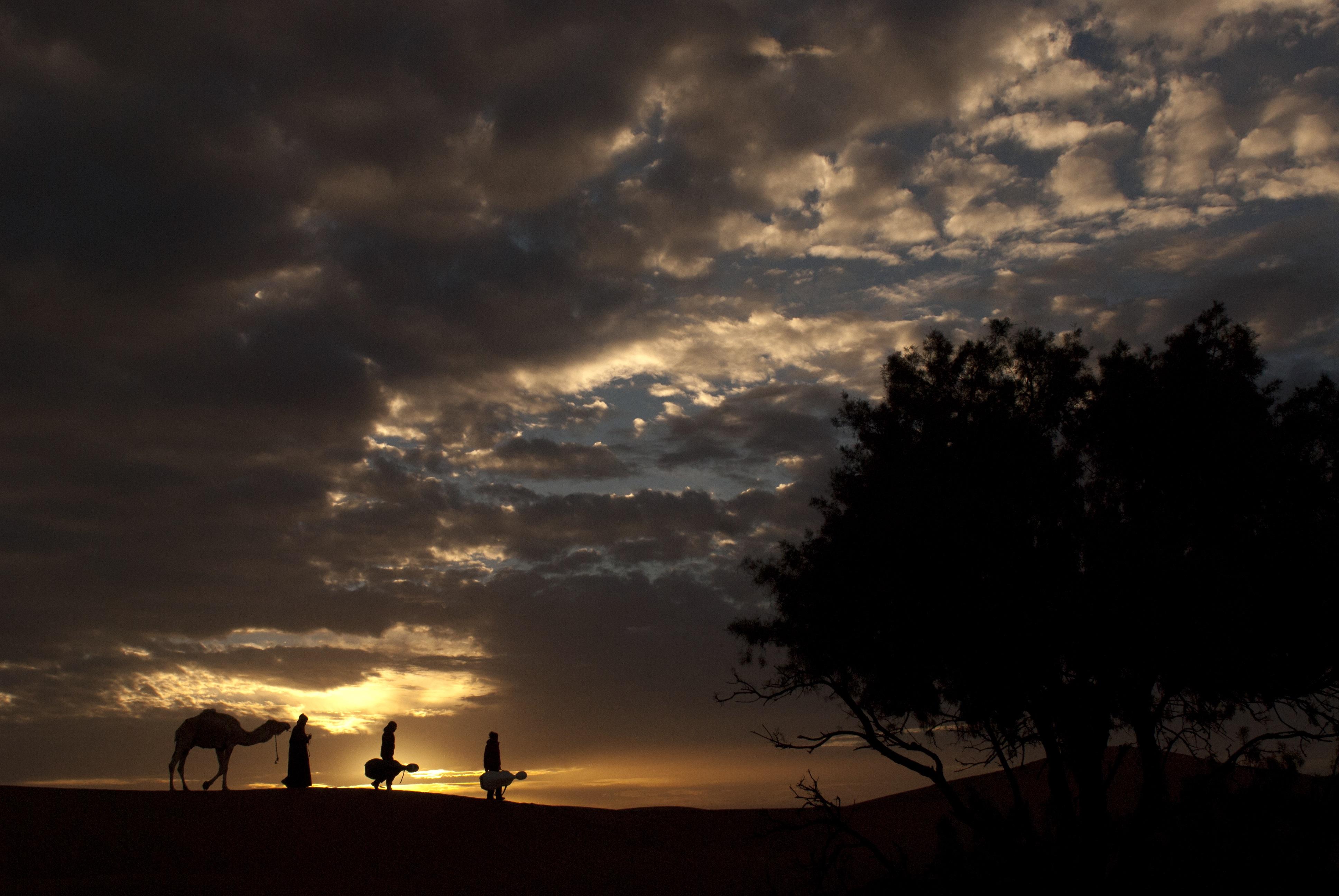 Lever de soleil, Maroc