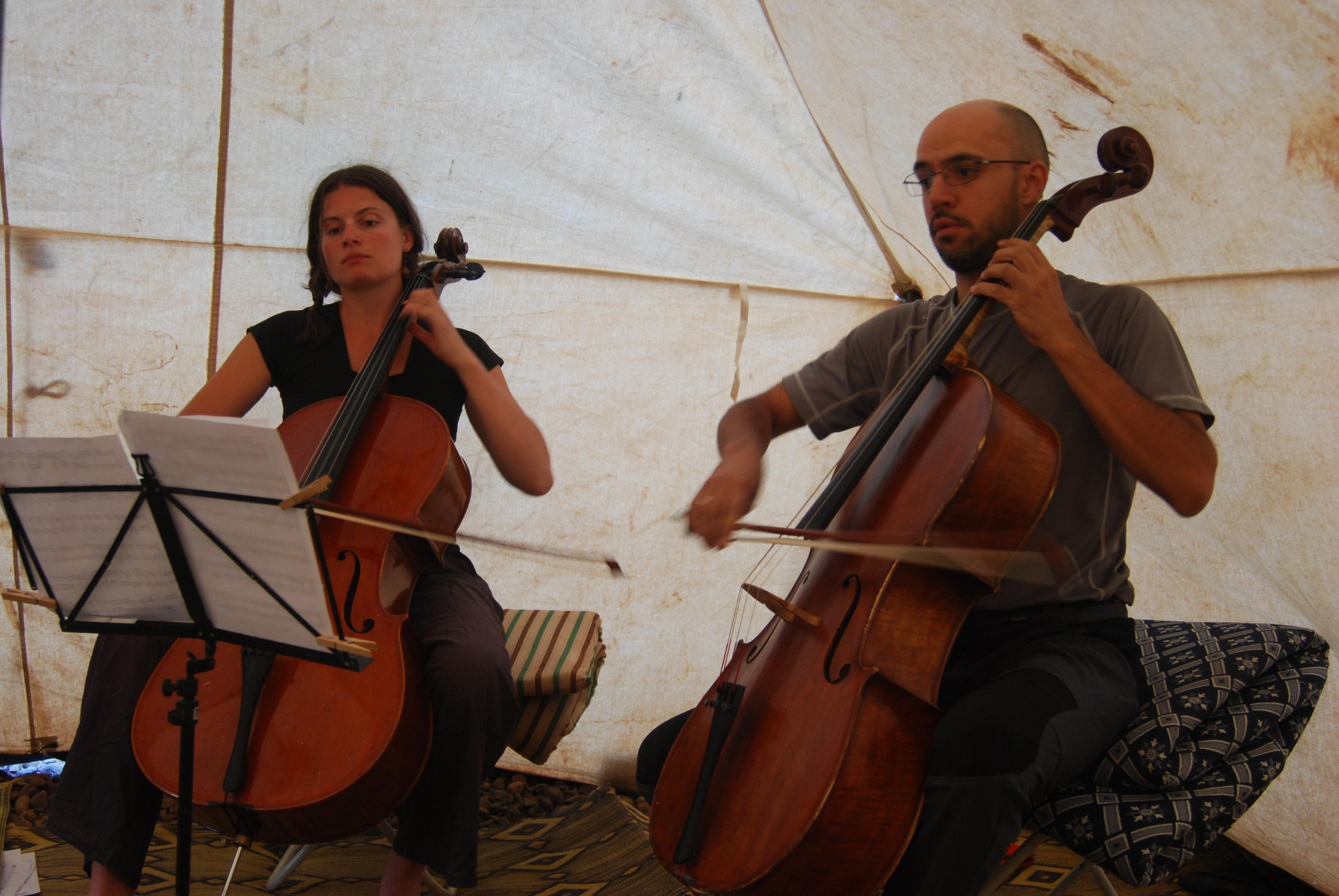Concert nomade, Maroc