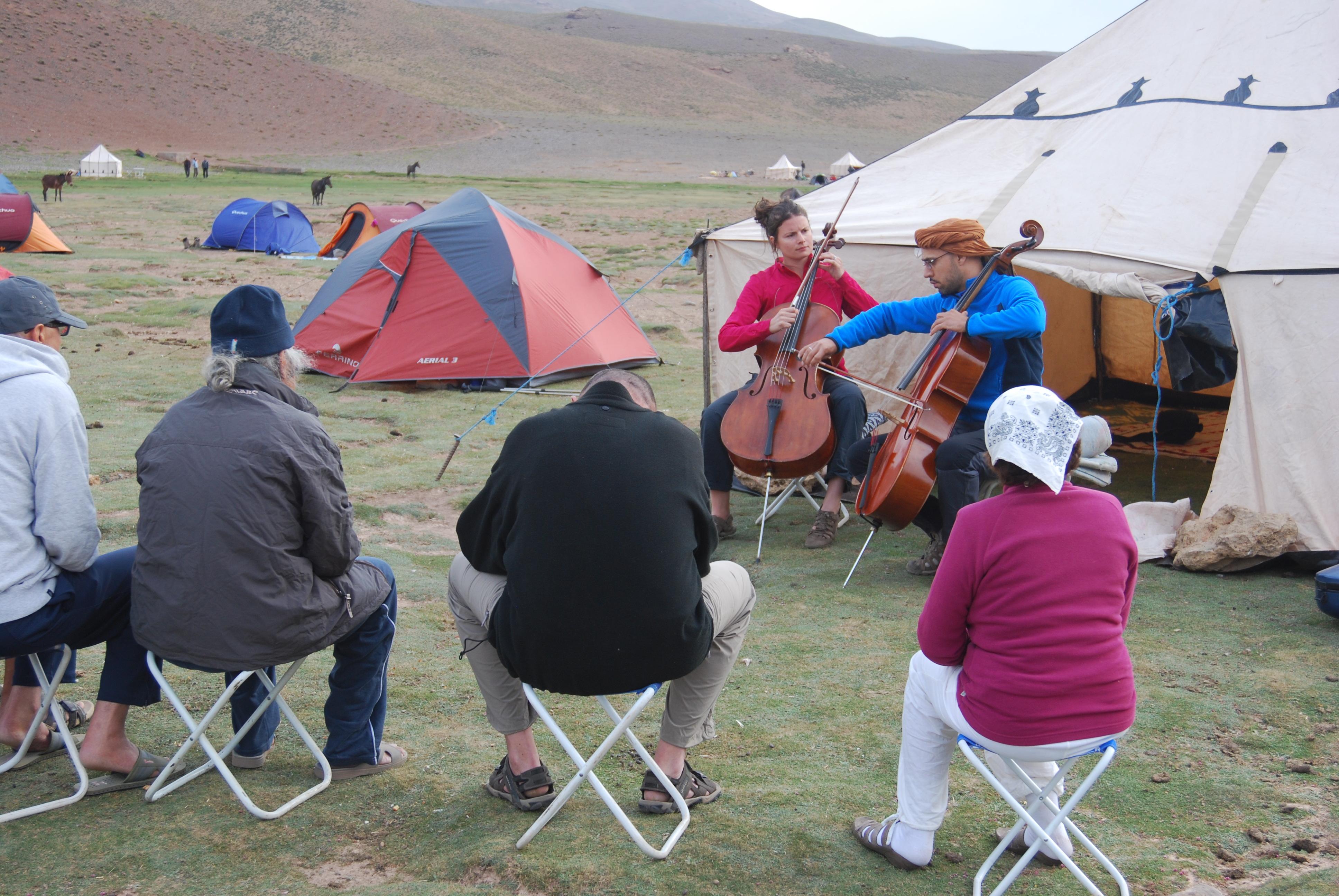 Concert plateau de Tarkkedit,Maroc
