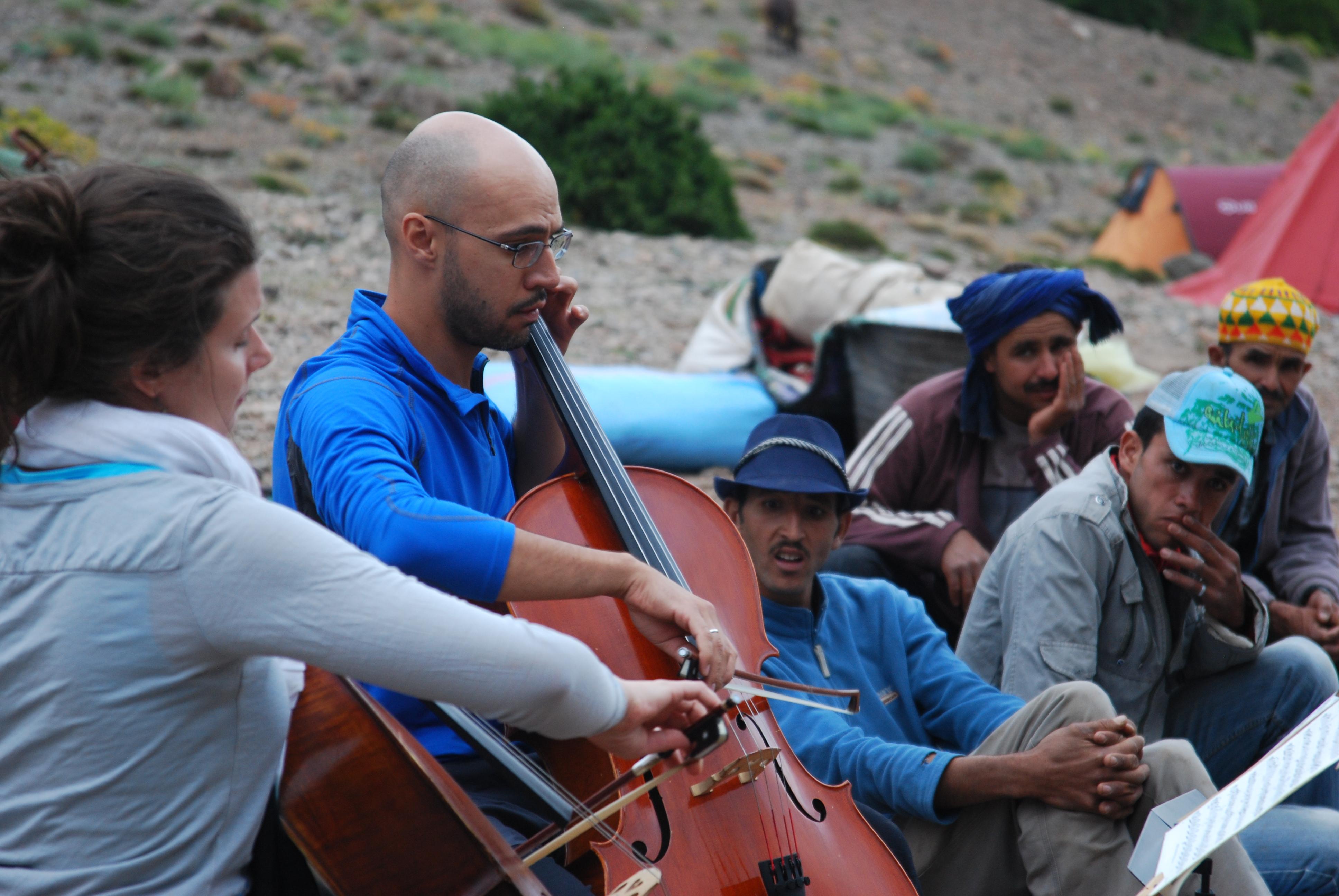 Les muletiers sont à l'écoute,Maroc