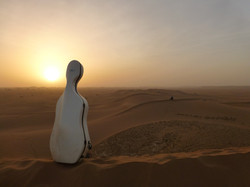 Coucher de soleil, Maroc