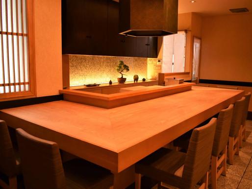 【日本料理店のカウンターキッチンを利用できます】赤坂theZenのご紹介
