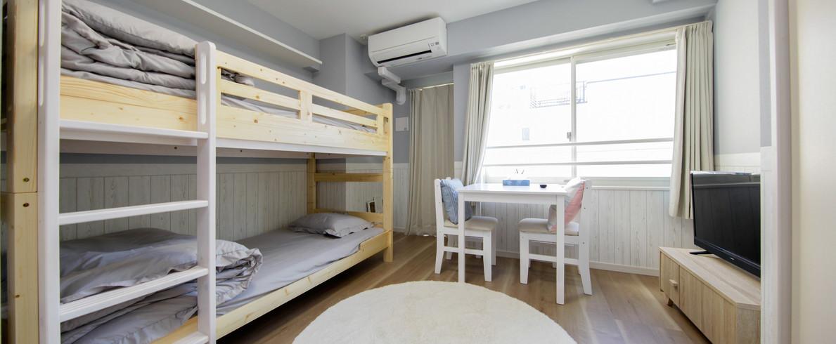 2段ベッド 1R 錦糸町駅徒歩12分