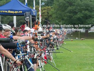 Les activités estivales se tiennent au parc Pierre-Bédard