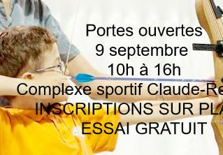 Testez le sports - Portes ouvertes - 9 septembre