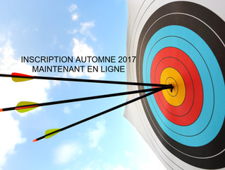 INSCRIPTION AUTOMNE 2017