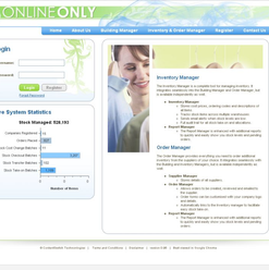 Page layout for a site