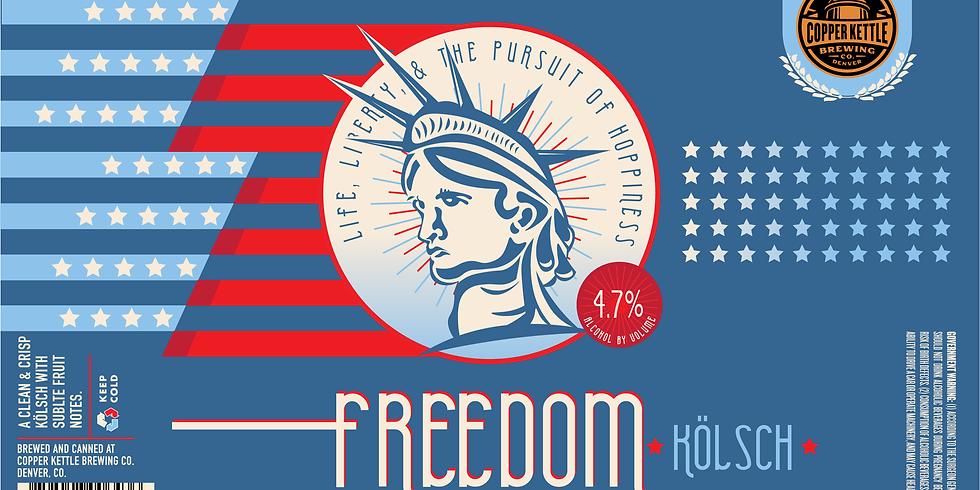 Freedom Kölsch Release!