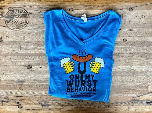 Women's Wurst Behavior T-Shirt