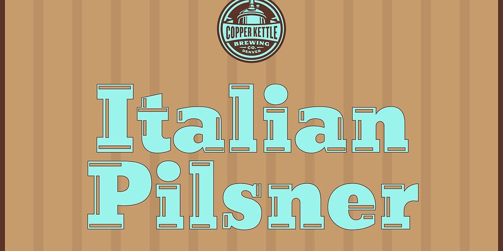 Italian Pilsner Release