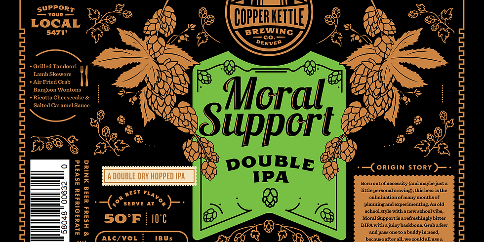 Moral Support DIPA Release