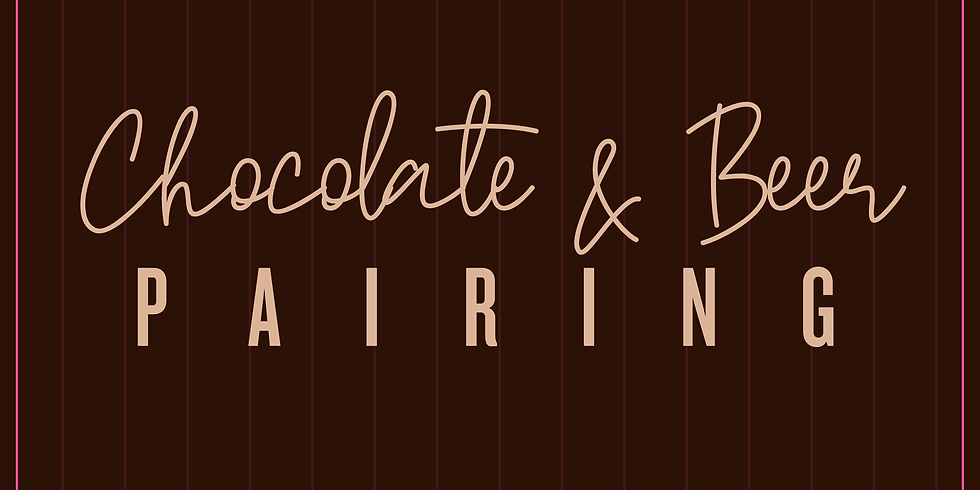 SOLD OUT: Chocolate and Beer Pairing