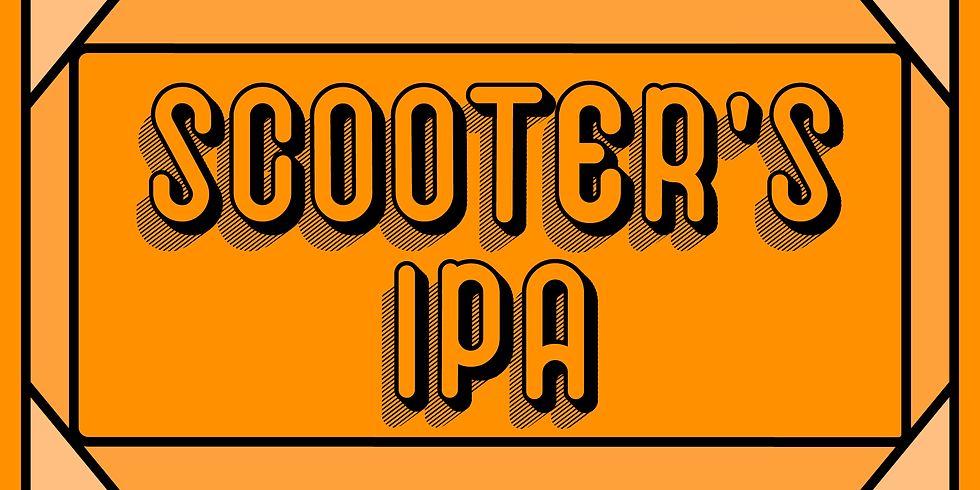 Scooter's IPA Release