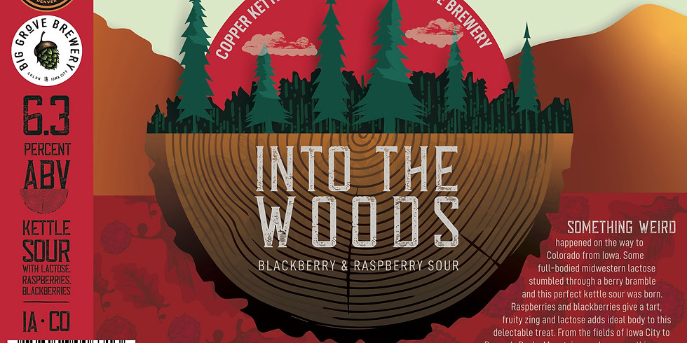 Into The Woods Sour Release
