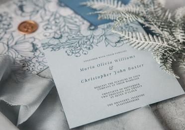 Enchanted Romance Wedding Invitation