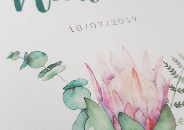 Hannah Wedding Invitation