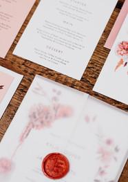 Scarlett Bouquet stationery suite